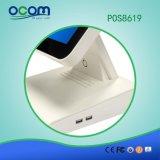 """POS8619 15 """" contact tout dans un terminal de position de caisse comptable de PC avec l'écran duel facultatif"""