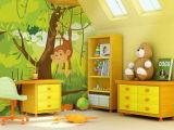 カスタム漫画の写真の壁紙の壁画の子供の子供の寝室の壁