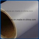 광택 있는 박판으로 만들어진 Frontlit Backlit 코드 기치 옥외 광고 440g