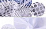 長方形ポリエステルはドローストリングが付いている網の純袋に着せる
