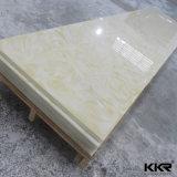 Superfície sólida de acrílico pedra de resina translúcida alabastro