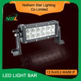 Barre tous terrains optique d'éclairage LED du CREE 36W 7inch du guide DEL