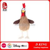 관례에 의하여 채워지는 귀여운 닭 견면 벨벳 장난감 통행 En71