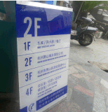 Folha expulsa acrílica plástica desobstruída de PMMA para o quadro de avisos