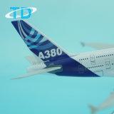 Flugzeug-Modell der Haus-Farben-A380 druckgegossenes der Schuppen-1/500 Metall