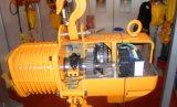 2 élévateur à chaînes électrique de bloc à chaînes de gerbeur de la tonne 9m