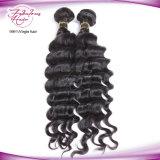 Cabelo Curly frouxo de qualidade superior que tece distribuidores indianos por atacado do cabelo
