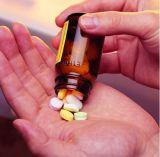 Bottiglia della plastica dell'animale domestico di formato di Smalll della farmacia