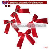 Broches Barrettes Clips de cinta de regalo de Navidad de productos para el Cabello (P3006)