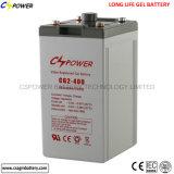 Batteria profonda asciutta del ciclo del fornitore per la fuori-Griglia 2V1500ah solare