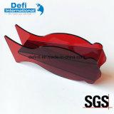 Nouveau vase en plexiglas en forme de poisson rouge acrylique