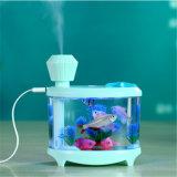 humectador eléctrico del tanque de pescados del petróleo esencial de Aromatherapy del difusor de la venta 2017hot mini