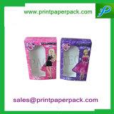 Boîte d'emballage personnalisée Supérieur Luxe Lighter Parfum cosmétiques Bijoux en peau de toilette Papier cadeau Boîte d'emballage pliable avec insert PVC / Pet / Cardboard