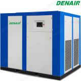La industria de baja presión lubricado con aceite del compresor de aire de tornillo rotativo 4 bar