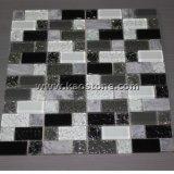 China, das natürlich,/weiß,/Schwarzes,/für die Wand-Pflasterung verwendet graues Mosaiken ist