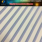 ポリエステルファブリック、ファブリックを並べる縞のあや織りファブリック衣服ファブリック(S78.135)
