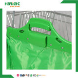 Supermercado Polyetser tecido Foldabe Shopping Trolley Bag