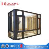 Madoye vidro temperado Thermal Break alumínio janela de batente para sala de desenho