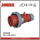 Zoccolo industriale montato di superficie di IP67 5p 16A