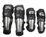 Rilievo di ginocchio del motociclo e protezione del gomito