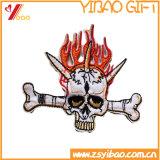 カスタム特別な恐怖刺繍のバッジ、編まれたラベル、刺繍パッチ(YB-PATCH-411)