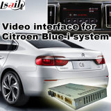 Video interfaccia dell'automobile per il sistema Blu-Io nuovi 2017 3008 5008 ecc della Peugeot Citroen Ds, la parte posteriore Android di percorso ed il panorama 360 facoltativi