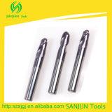 CNC de Fabrikant van de Bit van het Malen van de Molen van het Eind van de Neus van de Bal van het Carbide