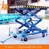2m móvil de tijera Plataforma hidráulica eléctrica aérea de trabajo (SJY0.5-2)