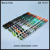 266nm, 355nm, 405nm, 532nm 자외선과 녹색 레이저 안전 유리 Laser 방어 고글 (GHP-2 200-540nm) 대회 세륨 En207의 백색 간단한 프레임 52