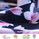 Напечатано персик Cdc (Creape De Chine) ткани для одежды или одежду