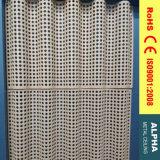 Revêtements solides perforés de panneau personnalisés par aluminium et de mur en métal extérieur