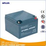 Baterias de recipiente ABS de alta taxa de exportação 12V 24ah para UPS