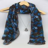sciarpa a strisce del poliestere di 178*99cm, scialli delle donne dell'accessorio di modo