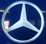 de Namen van het Embleem van 3D Diverse Materiële LEIDENE van de Douane Merk van de Auto