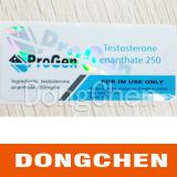 Etiqueta livre do tubo de ensaio do holograma de Enanthate da testosterona do projeto