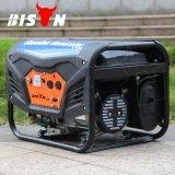 Portable de câblage cuivre de bison (Chine) BS3500g 2.8kw 2.8kVA petit 60 hertz d'essence de générateur d'utilisation de maison