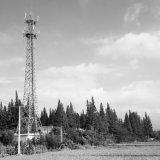 Stahlröhrenpole-Telekommunikations-Aufsatz für übersee