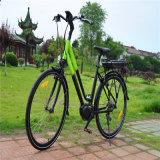 Zentrale mittlere MITTLERE Bewegungsstadt-elektrisches Fahrrad der Dame-700c 250W