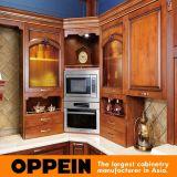 Oppein Antique Alder Madeira Armários de cozinha de luxo (OP16-120B)