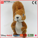 Les jouets animaux mous de prix bas ont bourré l'écureuil de Brown