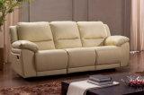 حديثة يعيش غرفة [جنوين لثر] [ركلينر] أريكة يثبت ([هك015])