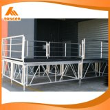 알루미늄 조정가능한 단계, 단계 플래트홈, 판매 (4FT*4FT)를 위한 사건 단계