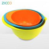 Salada de melão com dois tons de tigela de mistura Set 3