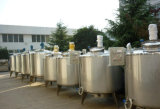 Pasteurizador De Leite Tanque De Fermentação De Lote Pasteurizador Tanque De Arrefecimento Tanque De Jaqueta