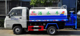 Foton 6 de Kleine Sproeier van Wielen de Tankwagen van het Water van 4000 L