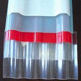 Поликарбонат UV-Coated прозрачное  Corrugated твердый лист для панелей толя