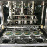 Relleno de la taza del agua y máquina del lacre automática