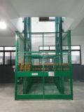 Levage hydraulique stationnaire de cargaison de longeron de guide (SJD0.5-4D-2)