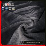 250g zwarte Kleur Franse Terry Knitting Denim Fabric voor Sportkleding