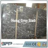 虚栄心の上のための安い中国の大理石の平板の灰色の大理石